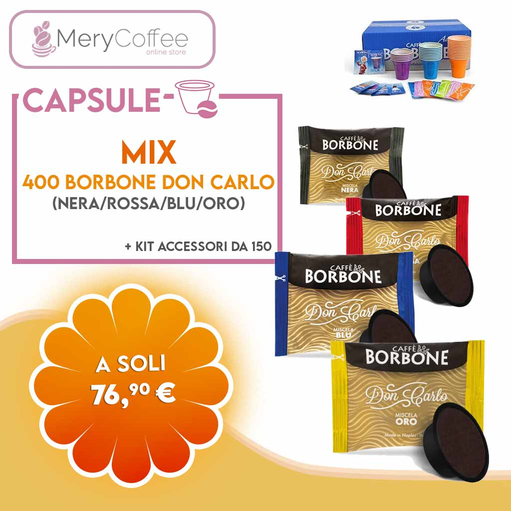 Mix Capsule Borbone Don Carlo